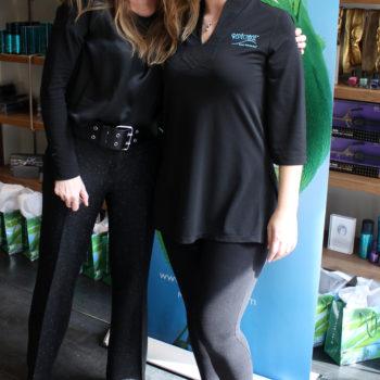 New York Beauty Editors Experience Repêchage SeaSmooth Artisan Seaweed Wax at Eva Scrivo Salon