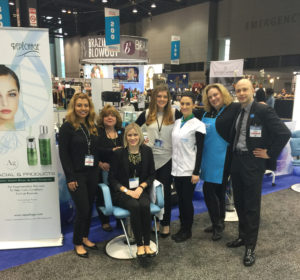The Repêchage team at the America's Beauty Show 2016
