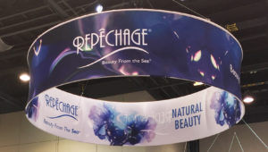 The new Repêchage banner at America's Beauty Show 2016