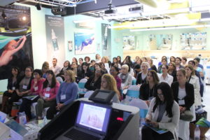 Day 2 of Sensory Fusion - Attendees at the Hands-On Workshop at the Lydia Sarfati Post Graduate Skincare Academy 1