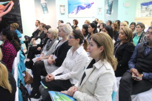 Day 2 of Sensory Fusion - Attendees at the Hands-On Workshop at the Lydia Sarfati Post Graduate Skincare Academy 2