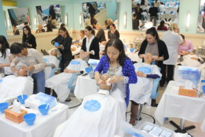 Day 2 of Sensory Fusion- Attendees at the Hands-On Workshop at the Lydia Sarfati Post Graduate Skincare Academy 3