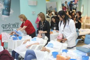 Day 2 of Sensory Fusion- Attendees at the Hands-On Workshop at the Lydia Sarfati Post Graduate Skincare Academy 4