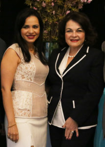 Origel with Lydia Sarfati at the Repêchage 18th Annual International Conference
