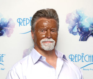 Repêchage Fusion Express Bar and Spa Masks on Paul Langston of Spot on Beauty Canada, at the Repêchage 18th Annual International Conference