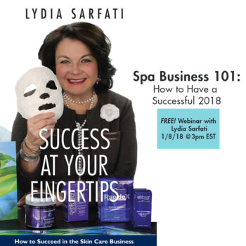 FREE Webinar – Spa Business 101: How to Have a Successful 2018