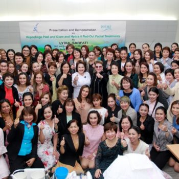 Lydia Sarfati and Repêchage Thailand Host Training for 100 Aesthetic Clinic Professionals and Launch the Repêchage Peel and Glow Facial